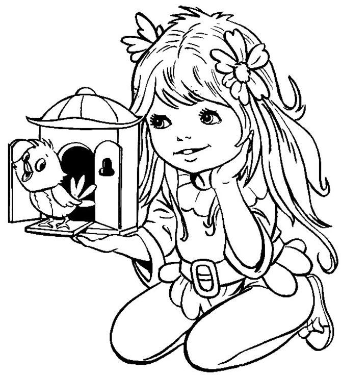 Girls Coloring Pages Free To Print