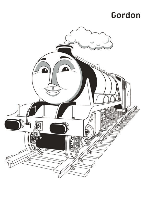 Gordon Thomas And Friends Coloring Pages