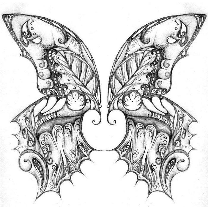 Gothic Butterfly Coloring Pages Coloring Ideas
