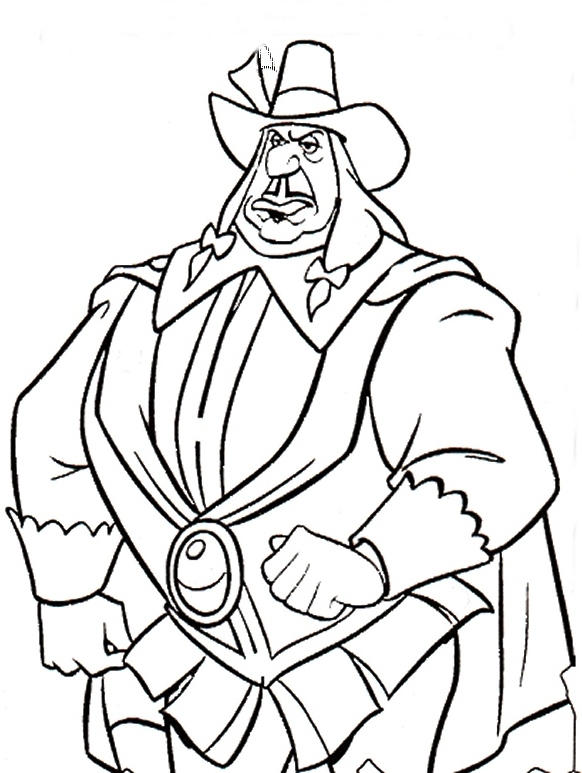 Governor Ratcliffe Coloring Page