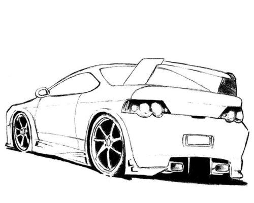 Great Batman Car Coloring Pages