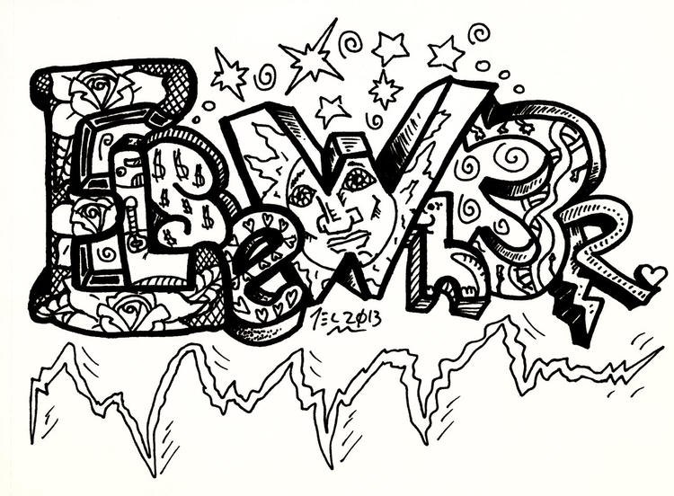 Great Coloring Pages For Teenagers Graffiti 1