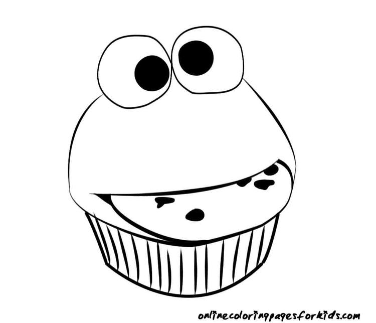 Great Cute Cake Coloring Pages