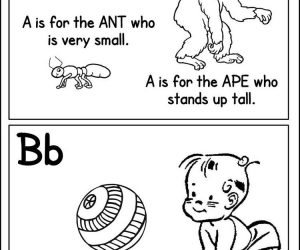 Great free printable abc coloring pages