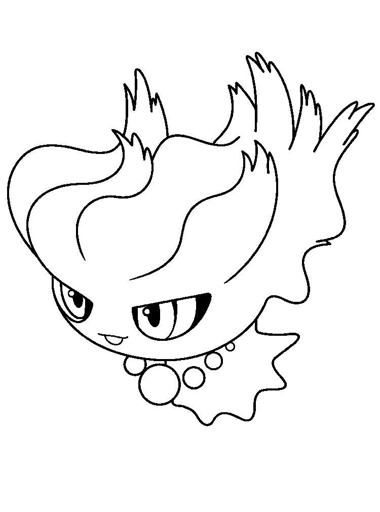 Great Pokemon Coloring Pages