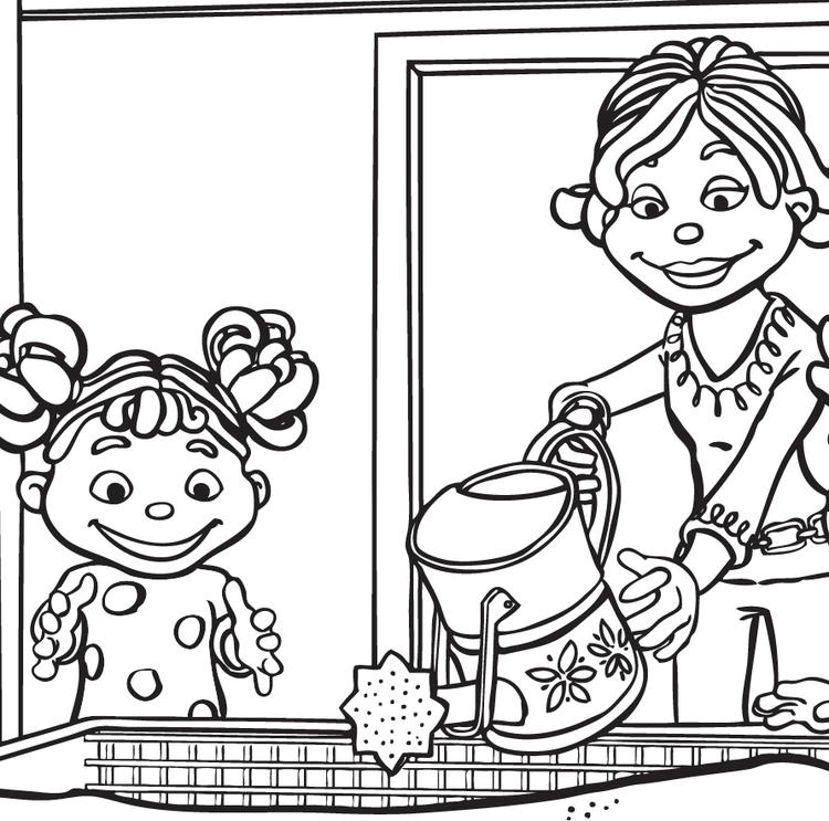 Great Sid The Science Kid Coloring Pages
