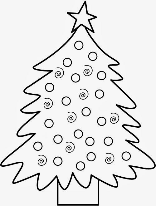 Great Toddler Christmas Coloring Pages
