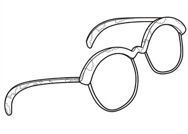 Griffin Glassess From Hotel Transylvania Coloring Pages