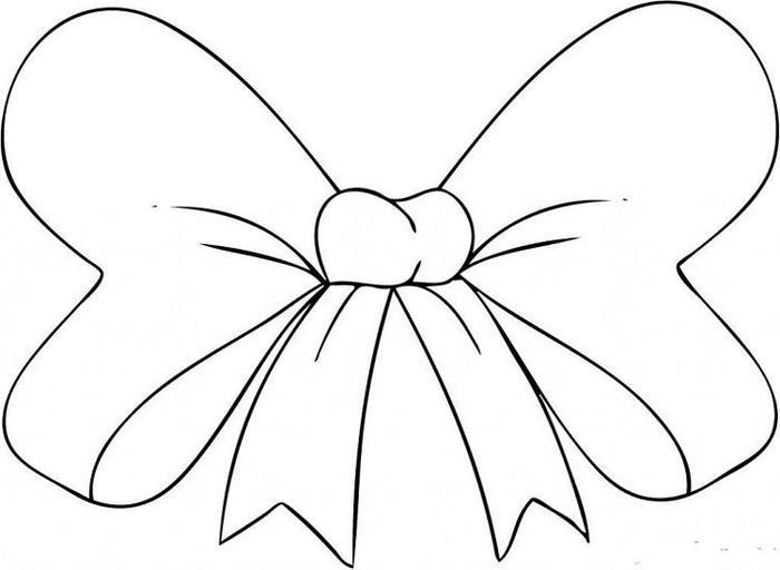 Hair Bows Coloring Pages