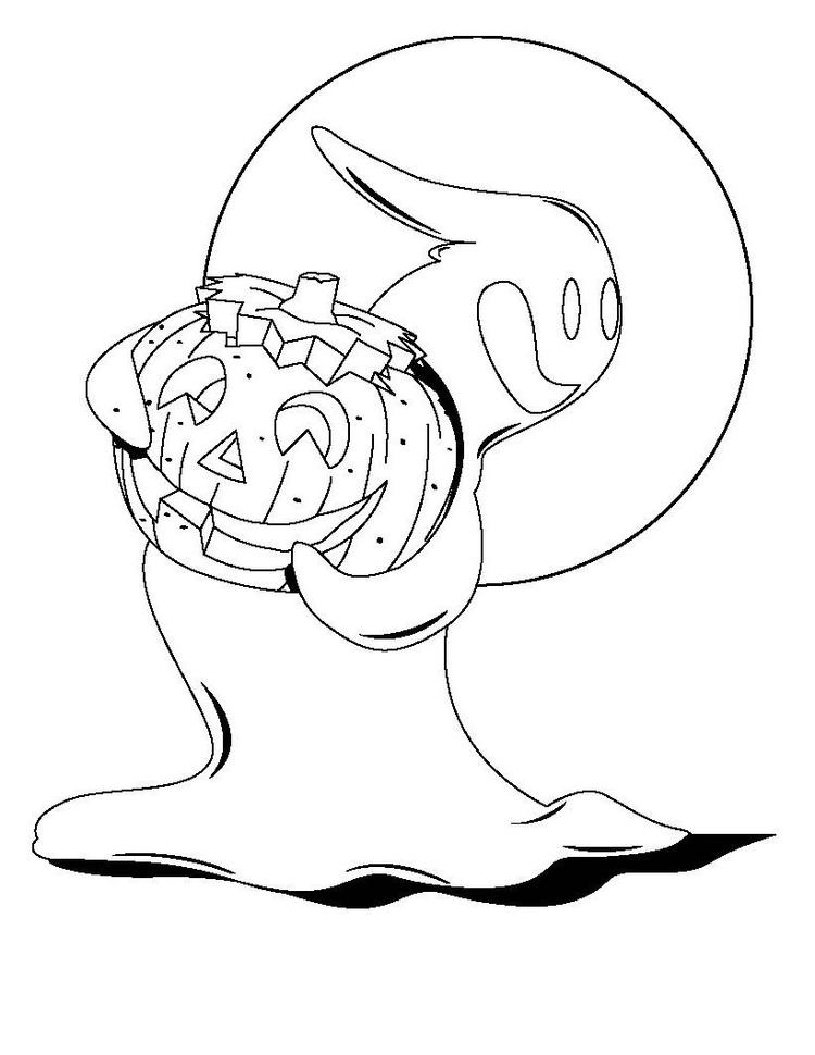Halloween Coloring Pages 1st Grade