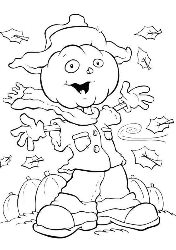 Halloween Coloring Pages Girls