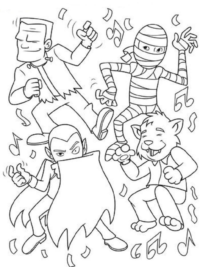 Halloween Crayola Coloring Pages