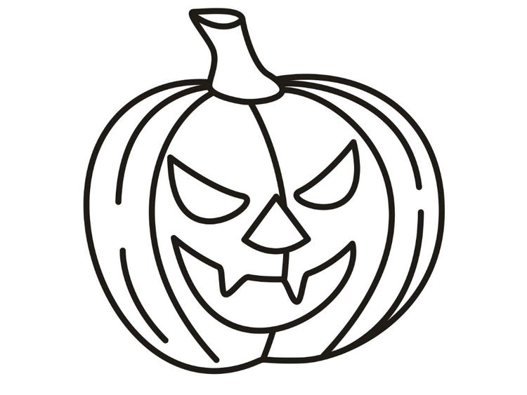 Halloween Pumpkin Coloring Pages Printable