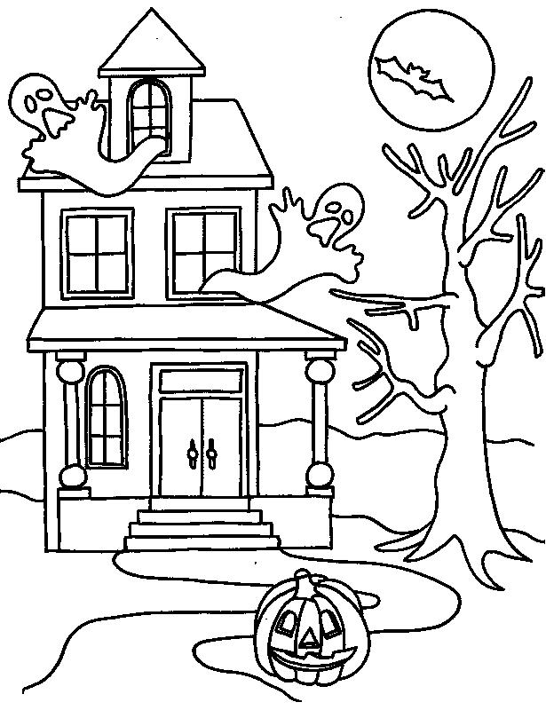 Halloween Sheets For Kids To Color