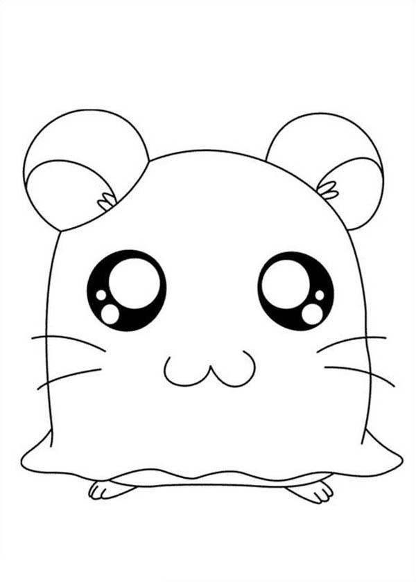 Hamtaro Coloring Pages For Kids