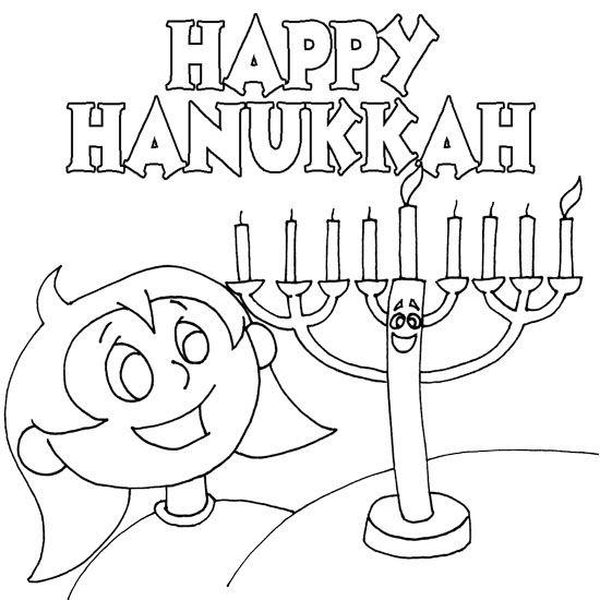 Hanukkah Coloring Pages For Girls