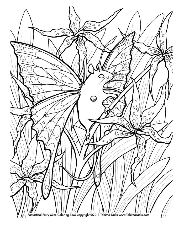 Happy Coloring Pages For Teenagers Difficult Fairy
