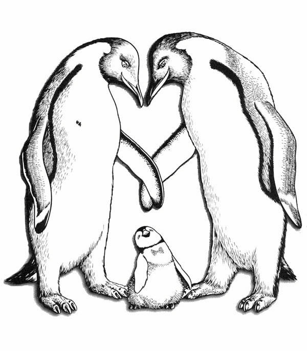 Happy Feet Parents Love Him So Much Coloring Pages