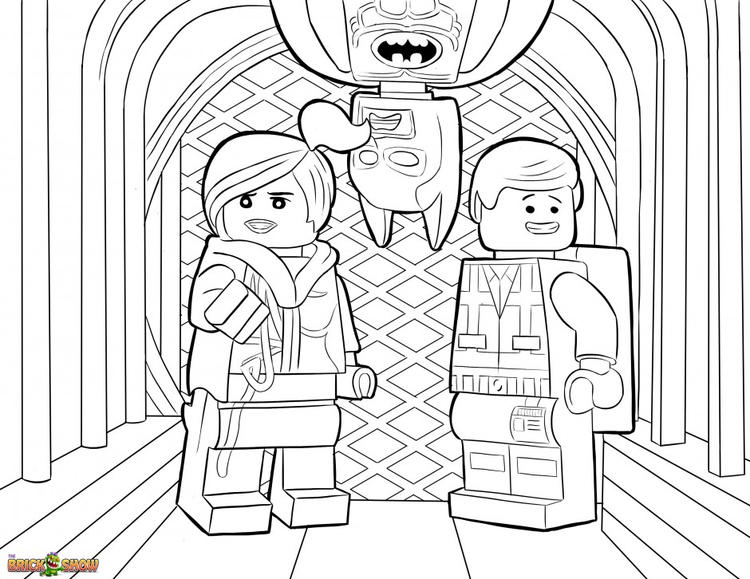 Happy Lego Marvel Coloring Pages 1