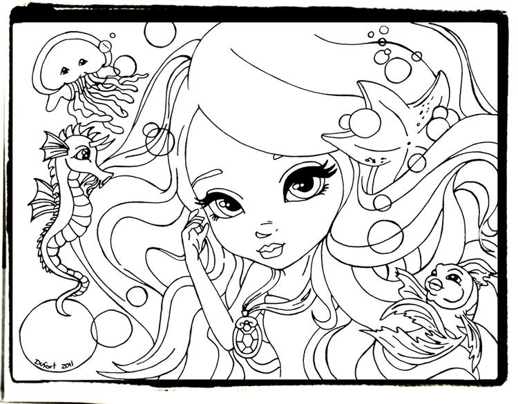 Happy Lisa Frank Coloring Pages