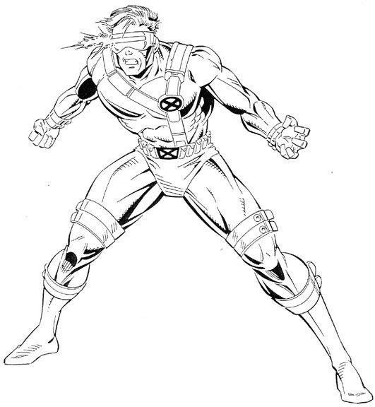 Happy Marvel Coloring Pages