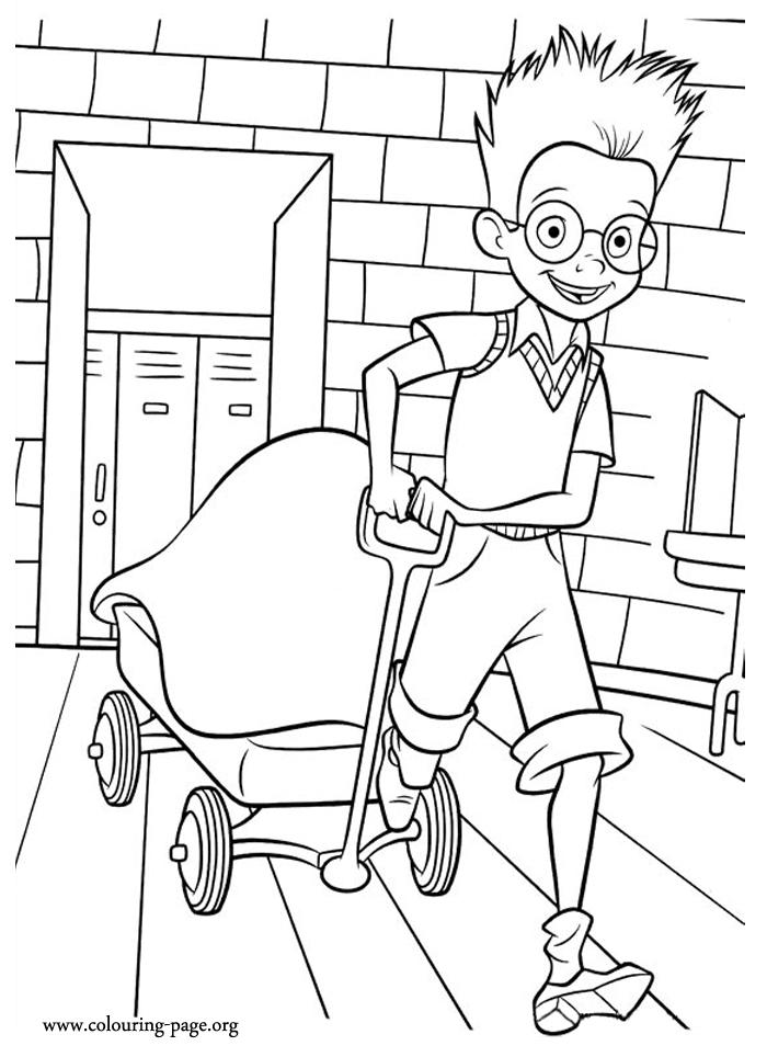 Happy Sid The Science Kid Coloring Pages 1