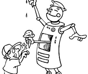 Happy sid the science kid coloring pages