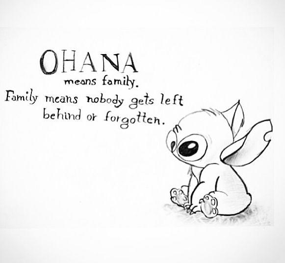 Happy Stitch Coloring Pages Ohana 1