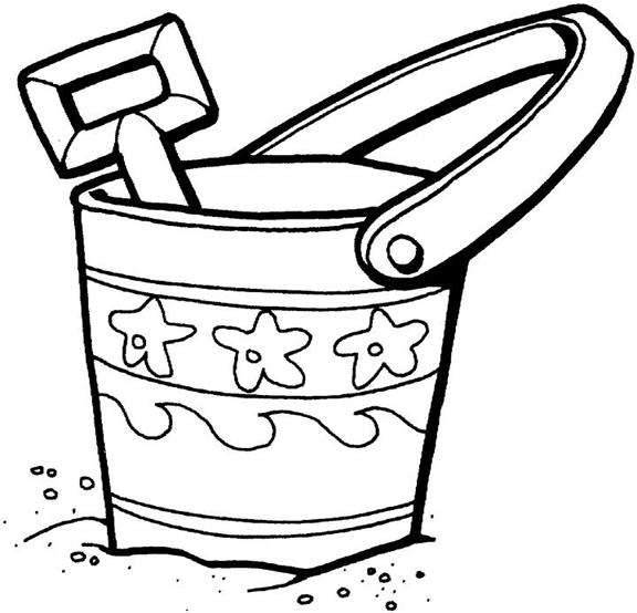 Happy Toddler Summer Coloring Pages 2