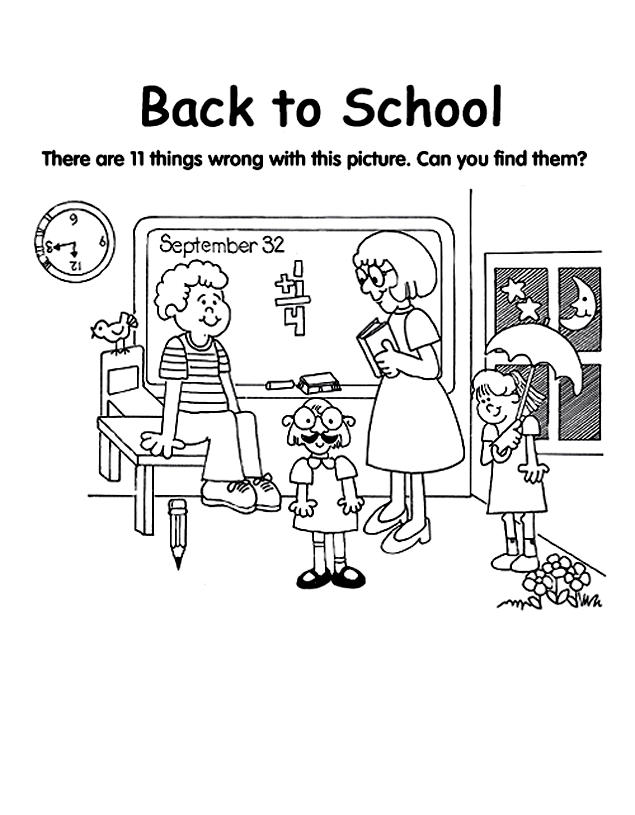 Happy Welcome Back To School Coloring Pages