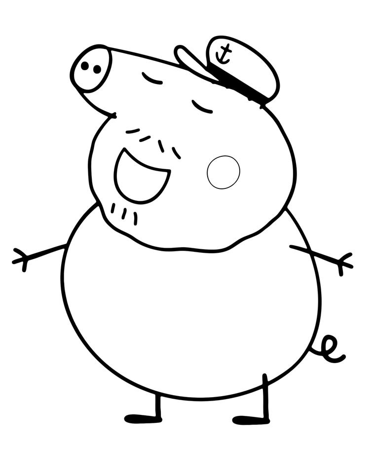 Happypeppa Pig And Friends Coloring Pages