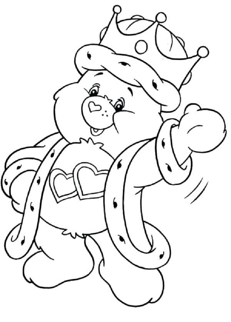 Harmony Care Bear Coloring Pages