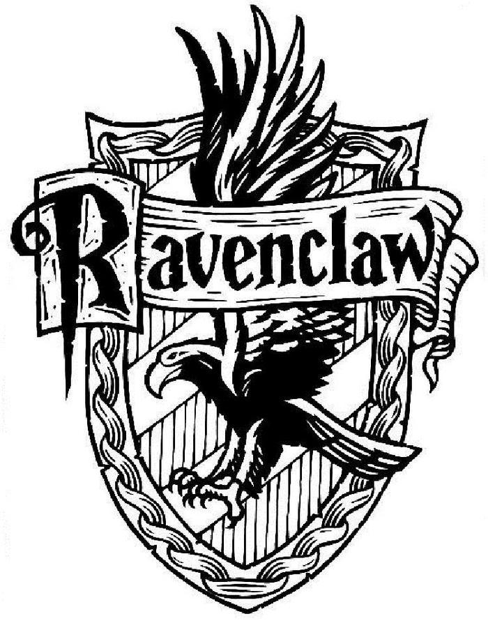 Harry Potter Coloring Pages Ravemclaw