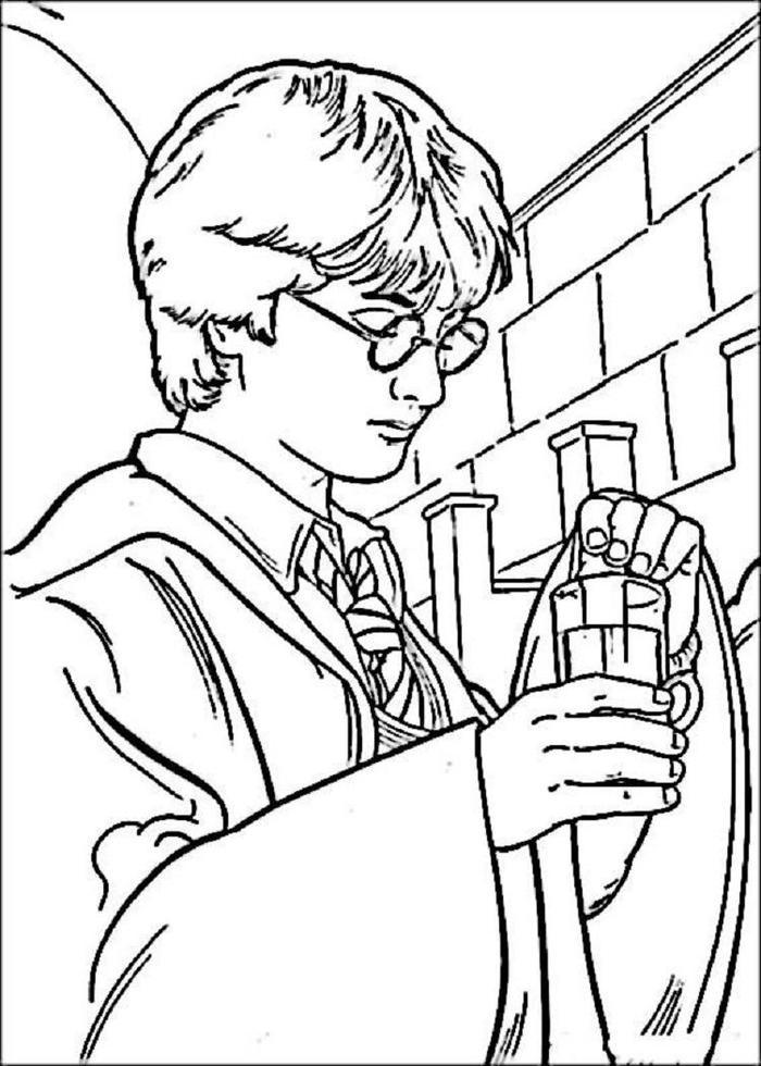 Harry Potter Coloring Pages To Doenload
