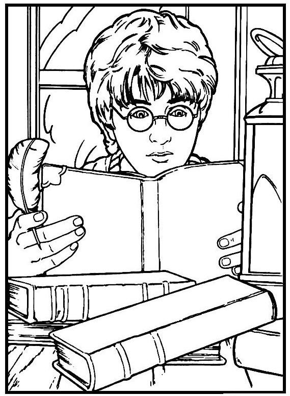 Harry Potter Reads The Book