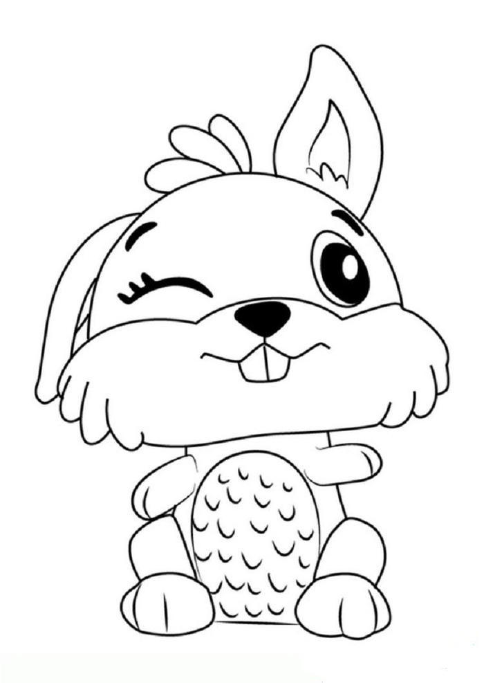 Hatchimals Bunwee Coloring Pages
