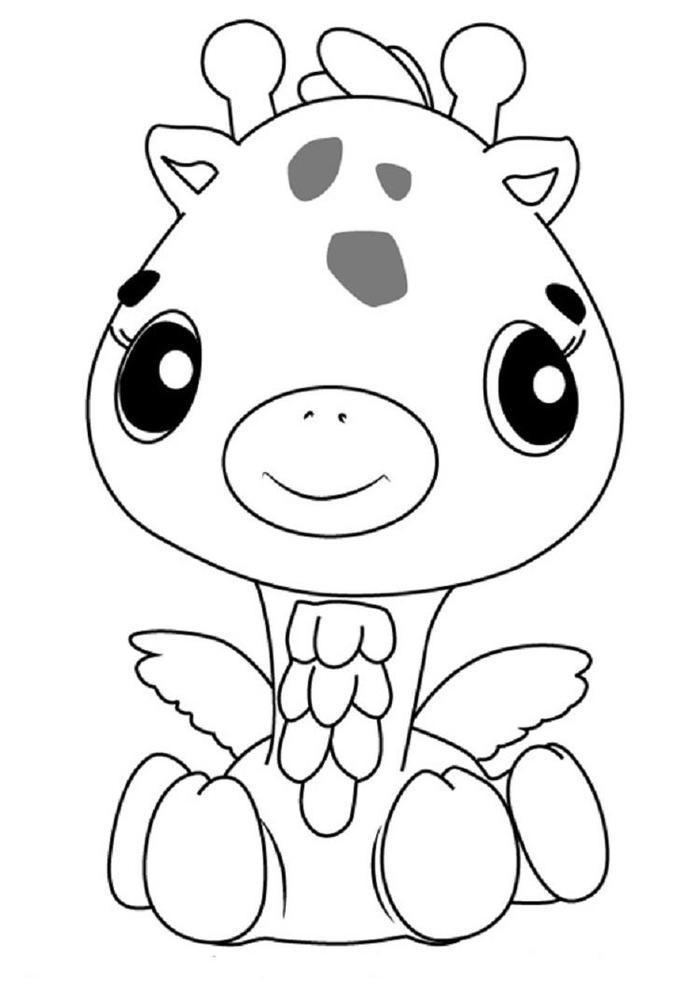 Hatchimals Girreo Coloring Pages