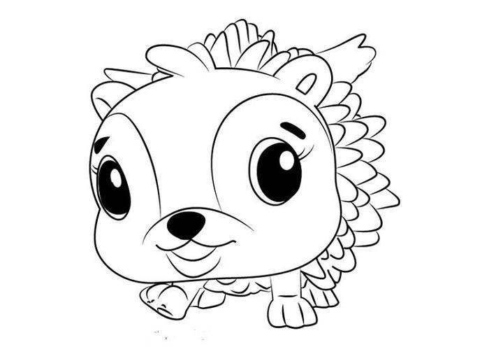 Hatchimals Hedgyhen Coloring Pages