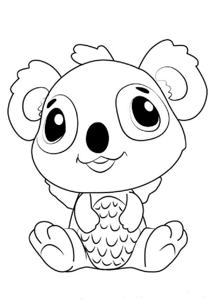 Hatchimals Koalabee Coloring Pages