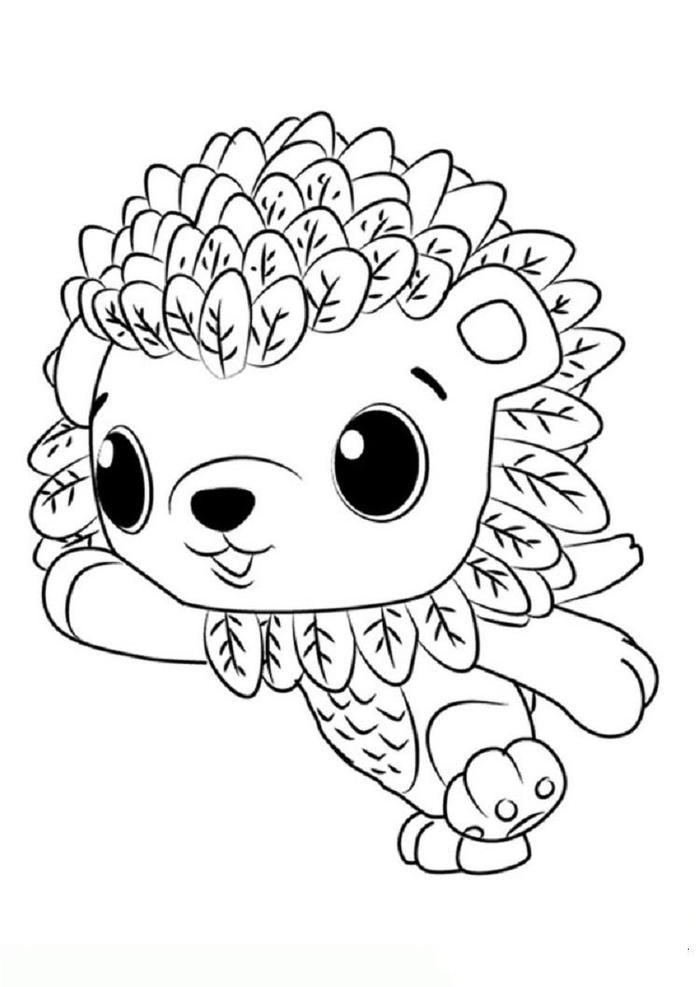 Hatchimals Leoriole Coloring Pages