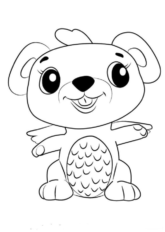 Hatchimals Mouseswift Coloring Pages
