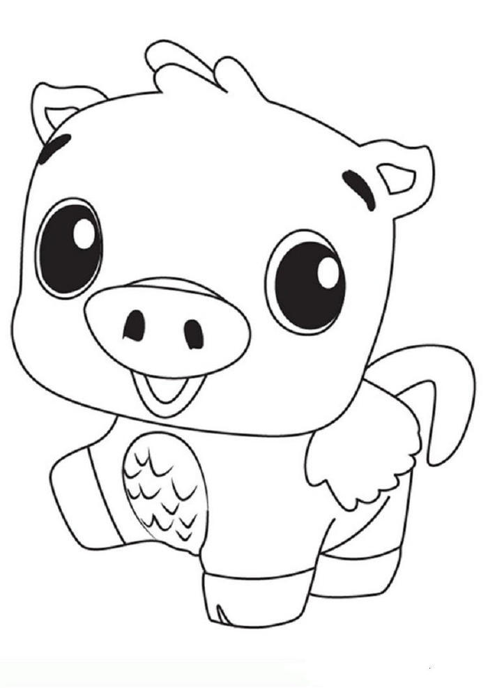 Hatchimals Pigpiper Coloring Pages