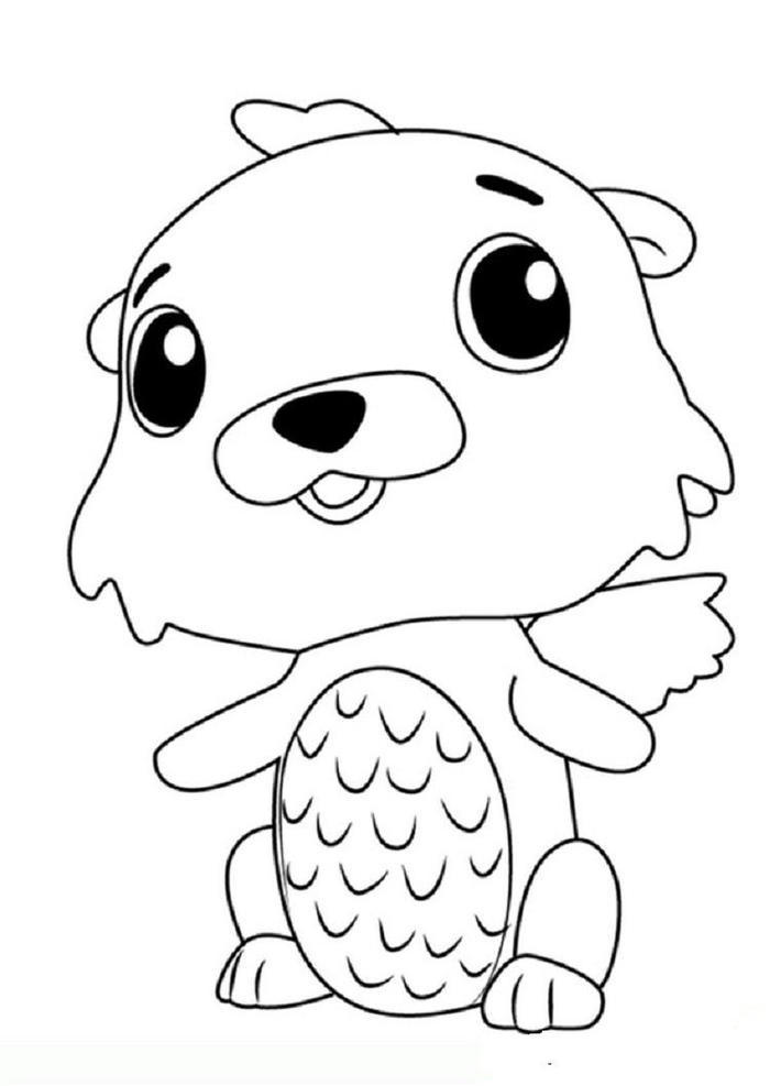 Hatchimals Swotter Coloring Pages