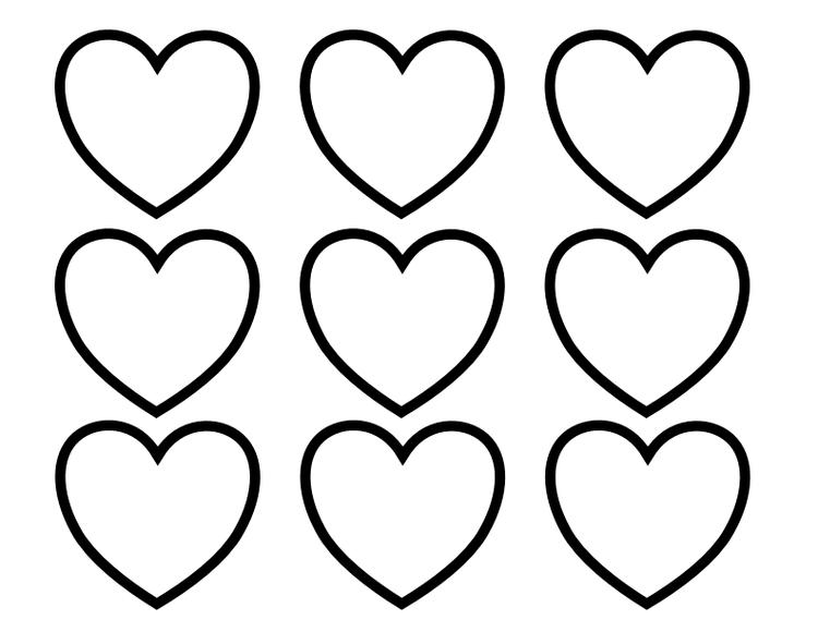 Heart Coloring Pages Plenty Of Hearts