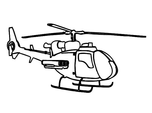 Helicopter Coloring Pages Free To Print