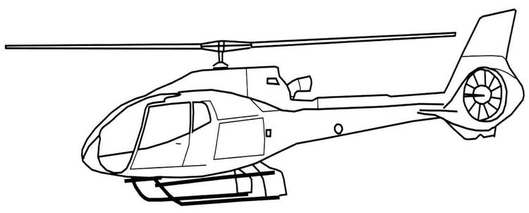 Helicopter Coloring Pages To Print