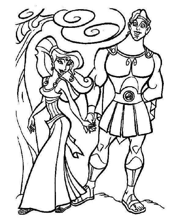 Hercules Coloring Pages 02