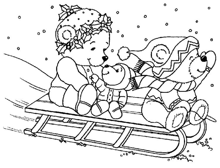 Holiday Coloring Pages For Kids