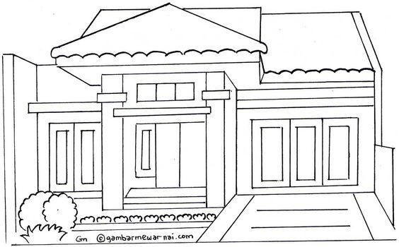Home Coloring Pages 02
