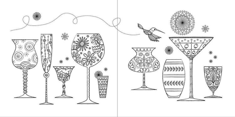 Home Sweet Home Coloring Book Printable